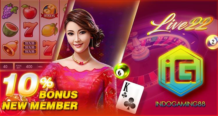 Slot Live22 Indogaming88