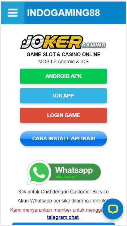 Download Joker123 via Indogaming