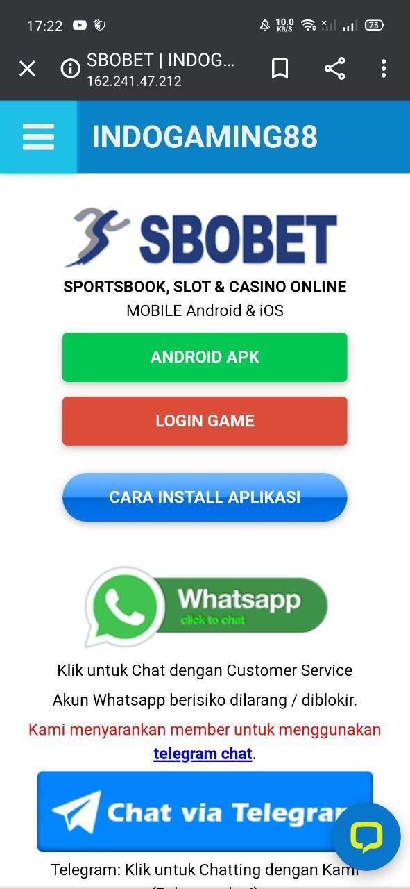 Install SBOBET App