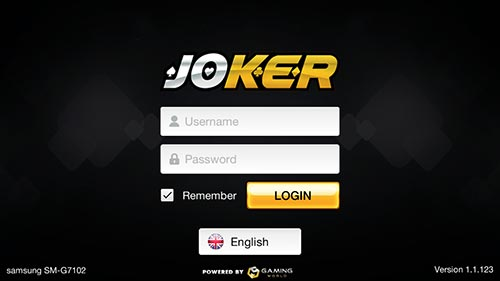 Login Joker123 APK Indogaming
